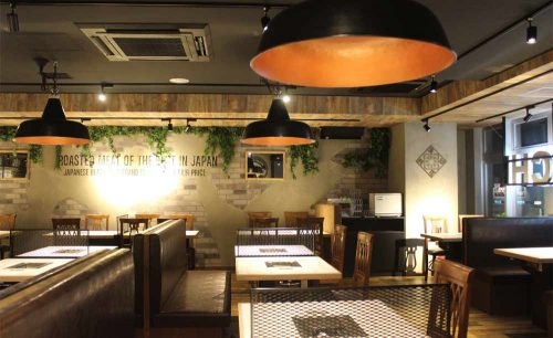 USHIHACHI 上野店の店内