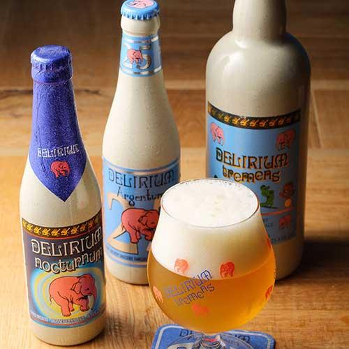 Petit Delirium Tap Cafe、ビール、ベルギービール
