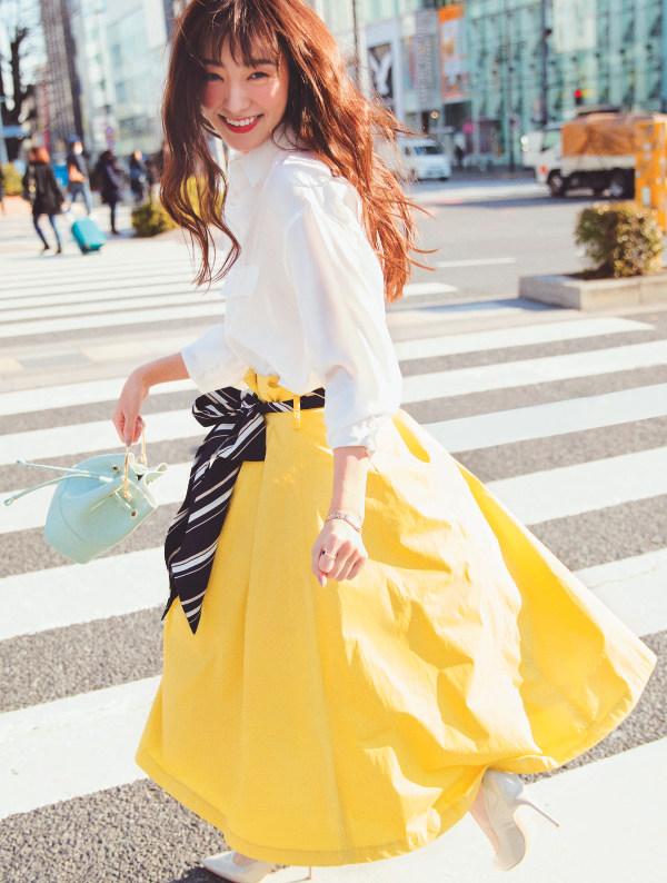 Trend編 STORY of SKIRT GIRL…♡旬顔スカートで彩る、私の毎日。『女の子らしさも! トレンド感も! こなれムードも! 今の「なりたい!」をまるっと叶えてくれる、〝今っぽ♡5大スカート〟がこの春の主役。さあ、今日はどの一枚でキュンキュンする?』