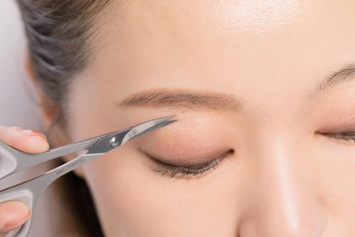 ■平行眉毛の作り方