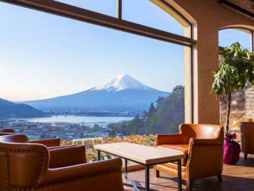 ラビスタ富士河口湖のロビー