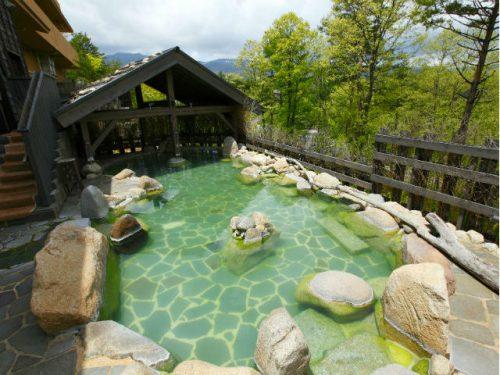 湯宿 季の庭の温泉