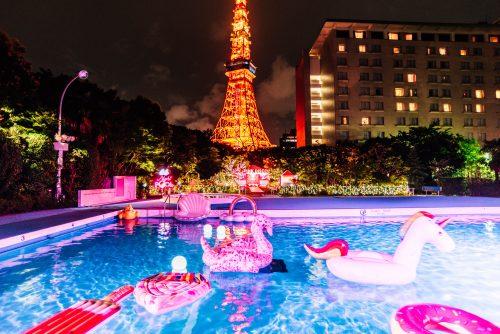 CanCamナイトプール、東京プリンスホテル