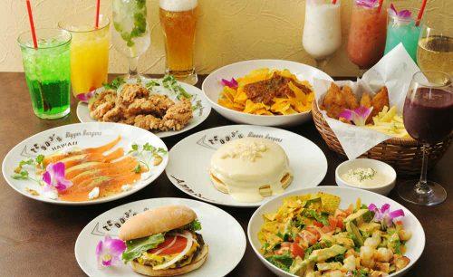 Teddy's Bigger Burgers 表参道店、料理