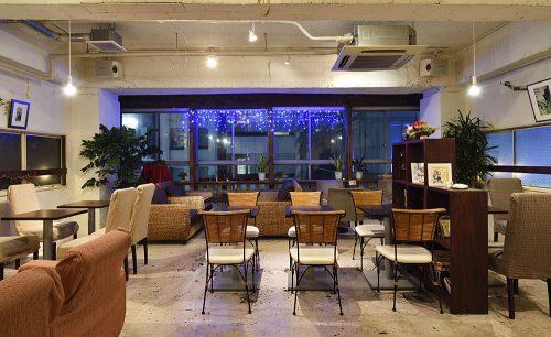 Cafe Ohana、店内