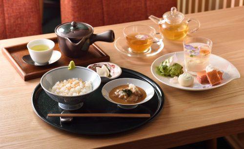 茶CAFE 竹若の和菓子