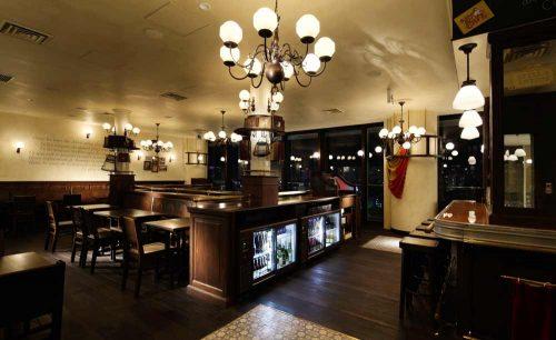 Belgian Brasserie Court Bruggeの店内