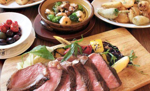 肉バル MANZO 中野店、ローストビーフ