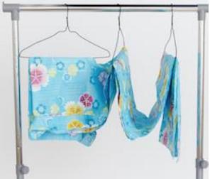 浴衣の干し方