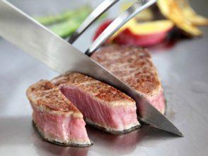 鉄板焼 銀明翠 GINZA,、ステーキ、鉄板焼