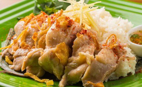 Asian Cuisine A.O.C.、カオマンガイ