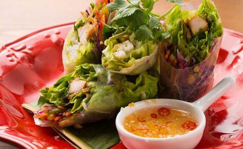 Asian Cuisine A.O.C.、生春巻き