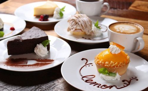 CoffeeLounge Lemon、デザート