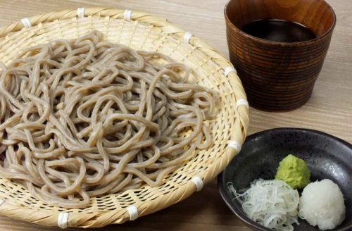 鶏焼と蕎麦 なゝ樹 NANAKI、そば