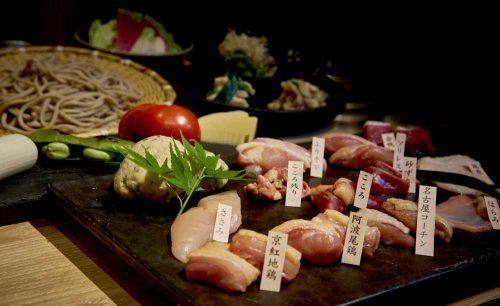 鶏焼と蕎麦 なゝ樹 NANAKI、鶏肉
