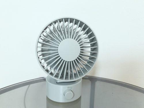 無印良品のミニ扇風機