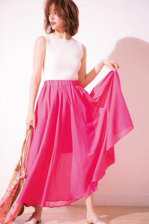 着るだけで無条件に気分がアガるピンクの魔法☆