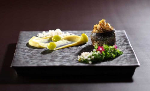 Sky Restaurant 634の料理