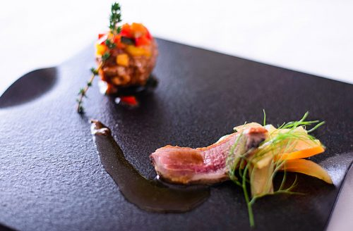 Restaurant LA KANCATOURの肉
