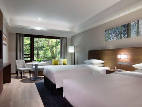 軽井沢マリオットホテル、部屋
