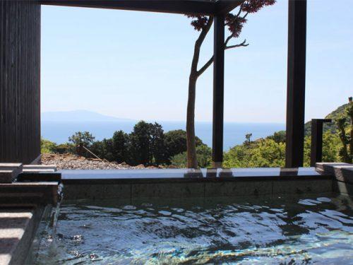 記念日を祝う宿 別邸KUROの温泉