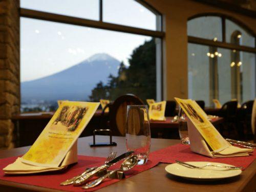ラビスタ富士河口湖。レストラン