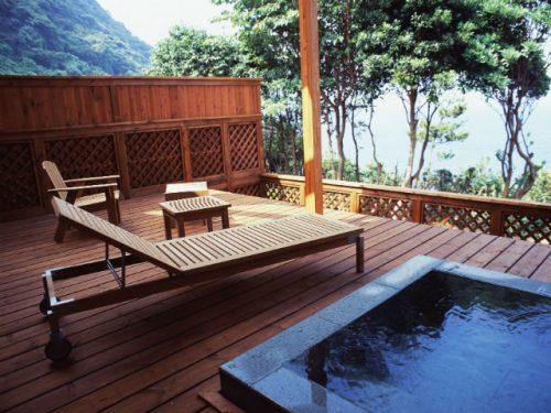 潮騒のリゾート ホテル海の部屋風呂