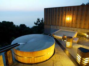 潮騒のリゾート ホテル海、露天風呂