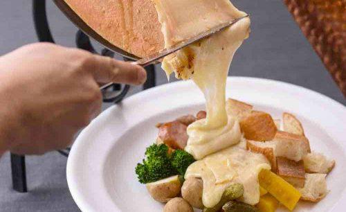 Cheese Dish Factory 渋谷モディ店のラクレットチーズ