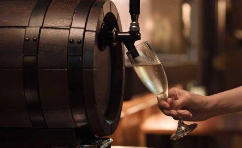 ザ・ワインバー 新宿住友ビル店 50階のスパークリングワイン