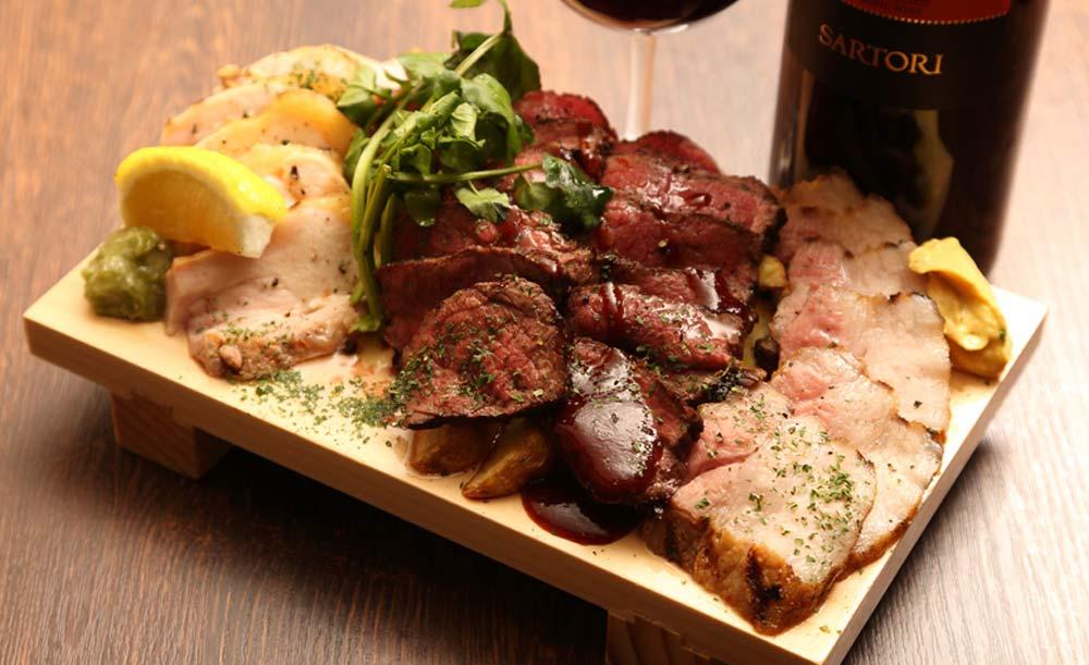 Italian bar バル道 大井町店、肉