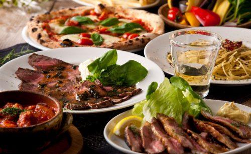 Italian bar バル道 大井町店の料理