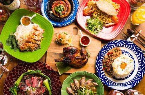 Asian Cuisine A.O.C.、料理