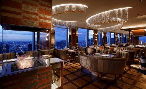 Dining & Bar TABLE 9 TOKYO/品川プリンスホテルの店内