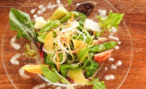 野菜レストランさいとうのサラダ