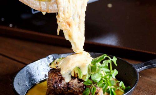 Cheese Cheers Cafe Ebisuのハンバーグ