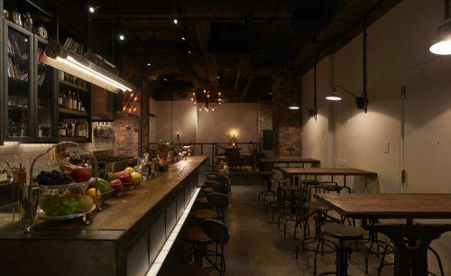 COCKTAILWORKS上野の店内