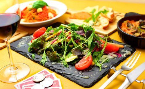 マジックレストラン&バーGIOIA 銀座、サラダ