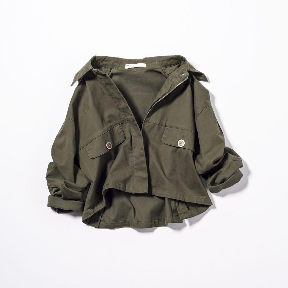 ジャケット¥5,546(ザラ・ジャパン<ザラ>)