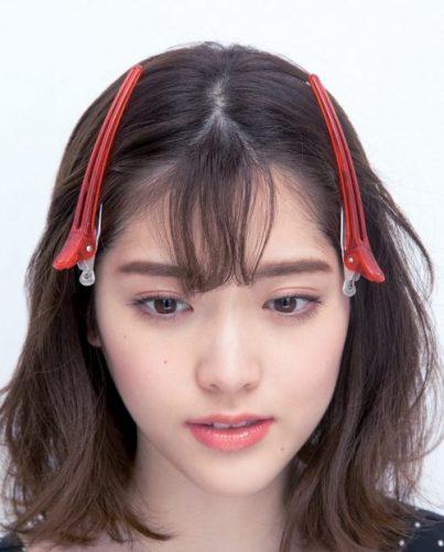 ■フェザー前髪