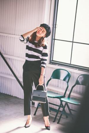 アニエスベーのモノトーンスタイルが可愛すぎる♡大人パリ風コーデ