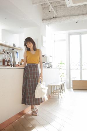 GUでつくる夏の上品スタイル♡ 着回し力抜群のスカートに注目!