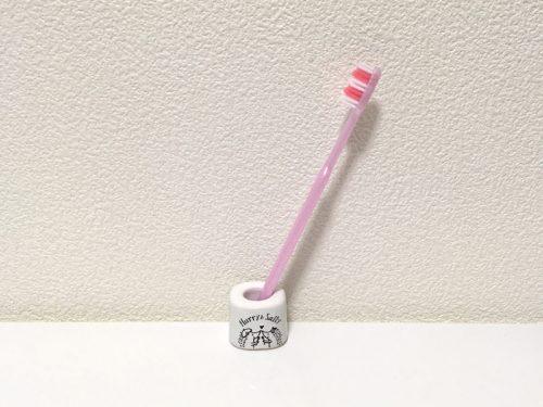 ■キャンドゥの「歯ブラシスタンド」をオシャレに変身!
