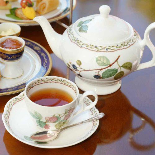 ガーデンラウンジ/リーガロイヤルホテル東京、紅茶