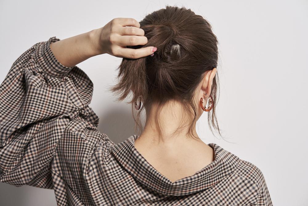 ◆ボブでもできて簡単!髪が短くてもできるポニーテール