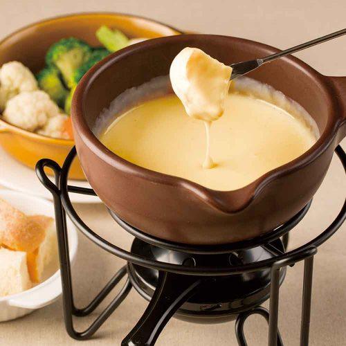 チーズとワインのお店 DEN HIBIYAのチーズフォンデュ