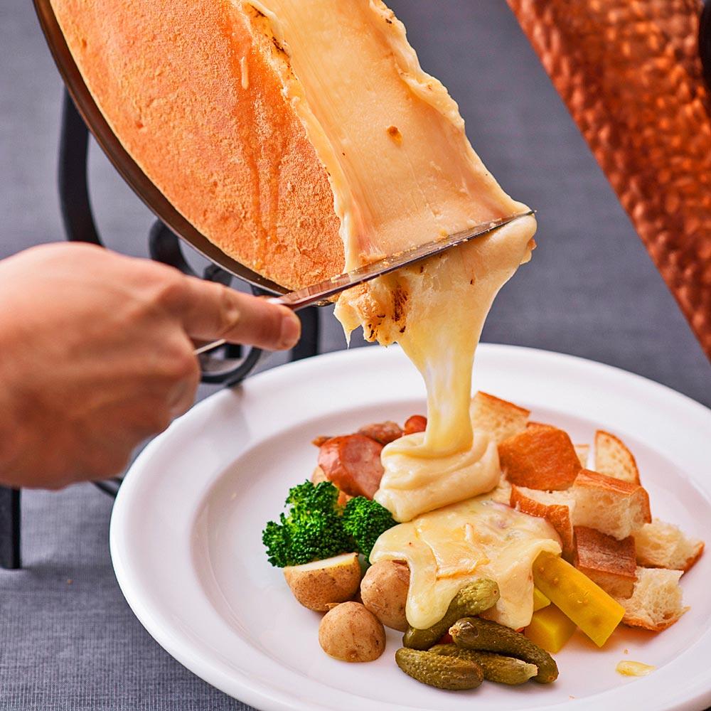 Cheese Dish Factory 渋谷モディ店,のラクレット