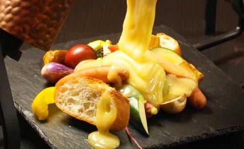Organic Osteria Ginsai Plus、ラクレットチーズ
