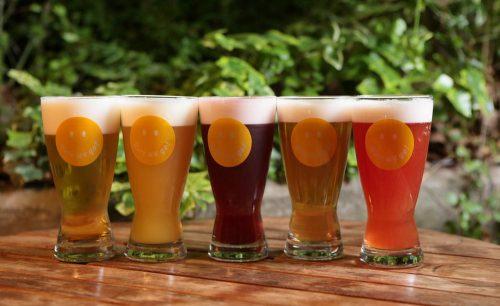 nakameguro SLOW TABLEのビール