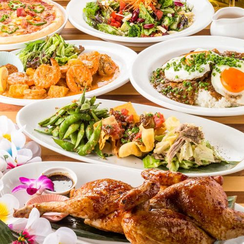 Hawaiian Cafe & Restaurant Merengue岸根公園店の料理